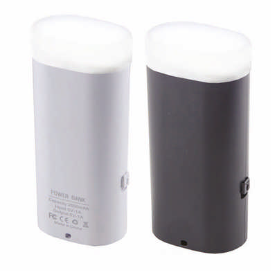 Torch Power Bank 2000 - (printed with 1 colour(s)) PB004_DEX