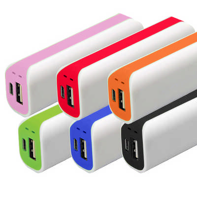 Curved Power Bank2200 - (printed with 1 colour(s)) PB005_DEX