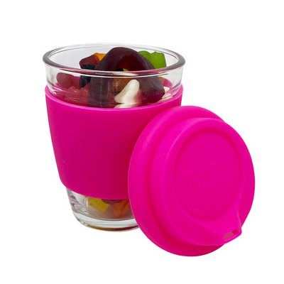 Jelly Party Mix In Carlo Glass Coffee Cup PM004_DEX