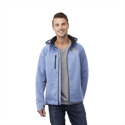 Bergamo Softshell Jacket - Mens - (printed with 4 colour(s)) TM12906_ELE