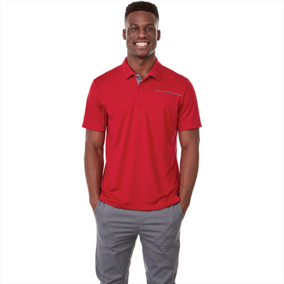 Wilcox Short Sleeve Polo - Mens - (printed with 1 colour(s)) TM16309_ELE