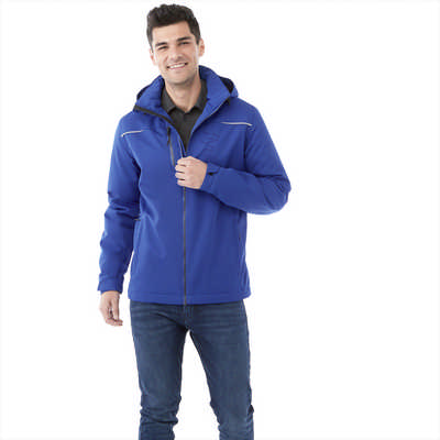 Colton Fleece Lined Jacket-mens - (printed with 4 colour(s)) TM19101_ELE