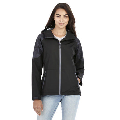 Index Softshell Jacket - Womens - (printed with 4 colour(s)) TM92936_ELE