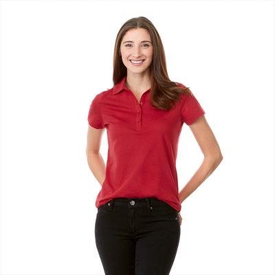 Acadia Short Sleeve Polo - Womens - (printed with 4 colour(s)) TM96224_ELE