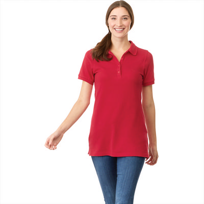 Belmont Short Sleeve Polo - Womens - (printed with 4 colour(s)) TM96624_ELE