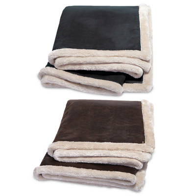 Kanata Faux Leather Throw K25_LEGEND