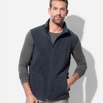 Mens Active Fleece Vest ST5010_LEGEND