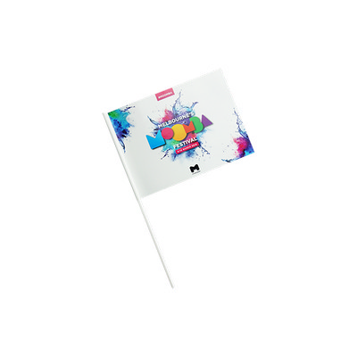 Custom Flag Thick Laminated Paper - (printed with 4 colour(s)) GP021LP_EZI