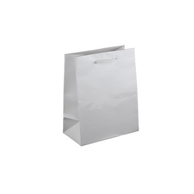 Baby White Gloss Laminated Paper Bag Printed - (printed with 1 colour(s)) KBLBFP_EZI