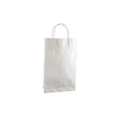 Baby Standard White Kraft Paper Bag Printed - (printed with 1 colour(s)) KBWBFP_EZI