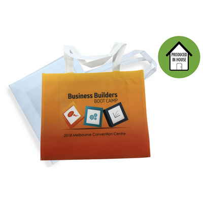 Edge to Edge Sublimated Landscape Non-Woven Tote - (printed with 4 colour(s)) NW008FC_EZI