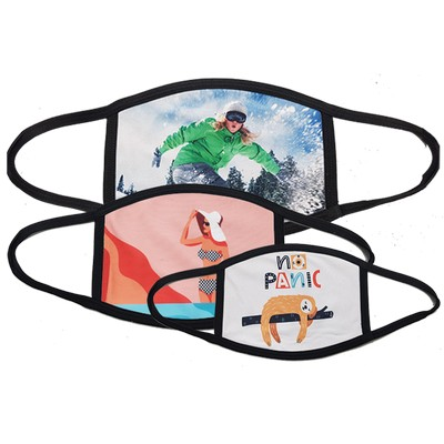 Sublimated Face Protection Mask - (printed with 4 colour(s)) GPS1000_EZI