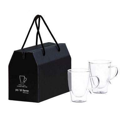 Aroma Glass Coffee Cup Set POAGC_GFL