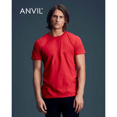 Anvil Adult Black Tee Colours 790_COLOURS_GILD