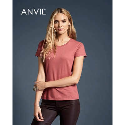 Anvil Women`s Lightweight Tee Colours 880_COLOURS_GILD