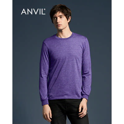 Anvil Adult Lightweight Long Sleeve Tee Colours 949_COLOURS_GILD