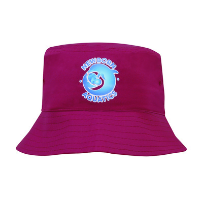 Poly Twill Childs Bucket Hat 3939_HDW