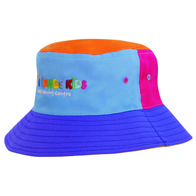Poly Twill Childs Bucket Hat 3941_HDW