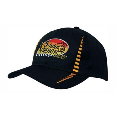 6 Panel Breathable Poly Twill Cap With Embroidered Checks 4010_HDW
