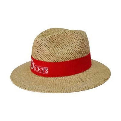 Natural Madrid Style String Straw Hat S4284_HDW