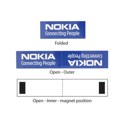 Magnetic Bookmark - (printed with 4 colour(s)) BM103_HC
