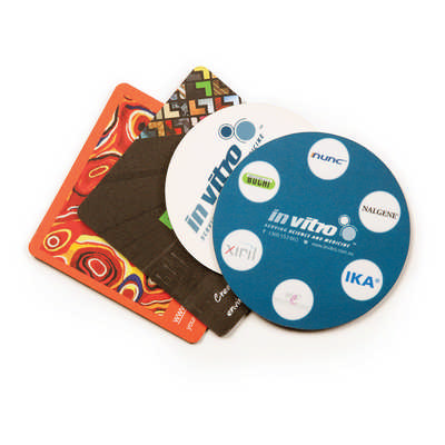 Deluxe Coaster - 1mm Natural Rubber - (printed with 4 colour(s)) C1B_HC