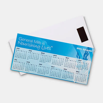 Magnetic Tab Calendar - (printed with 4 colour(s)) CL101_HC