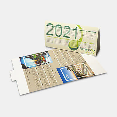 Desk Calendar - (printed with 1 colour(s)) CL105_PB
