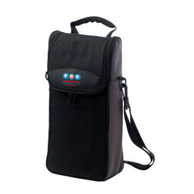 2-bottle Cooler Bag - (printed with 1 colour(s)) D602_PB