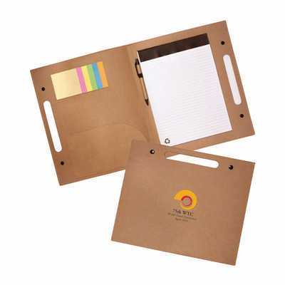 Enviro Folder with Pen - (printed with 1 colour(s)) EC221_PB