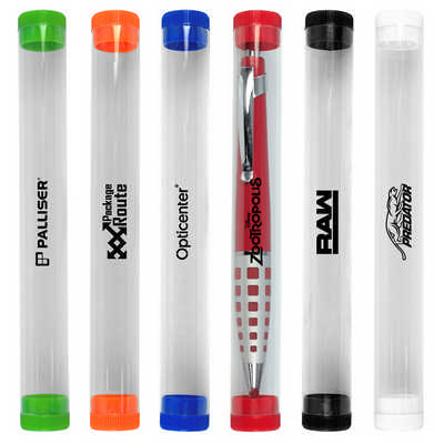 Clear Presentation Tube - (printed with 1 colour(s)) F036_PB