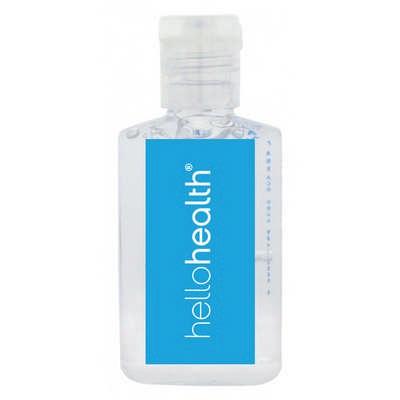 30ml Hand Sanitiser Gel - 62% Ethyl-alcohol - (printed with 1 colour(s)) H302_PB