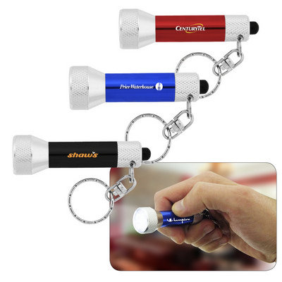 7 LED Key Chain Flashlight - (printed with 1 colour(s)) L-707_HC