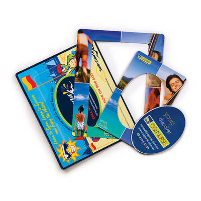 3 in 1 Magnetic Photo Frame - (printed with 4 colour(s)) M401_HC