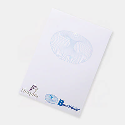 A5 Note Pad (25 Leaves Per Pad) - (printed with 1 colour(s)) PP101_PB