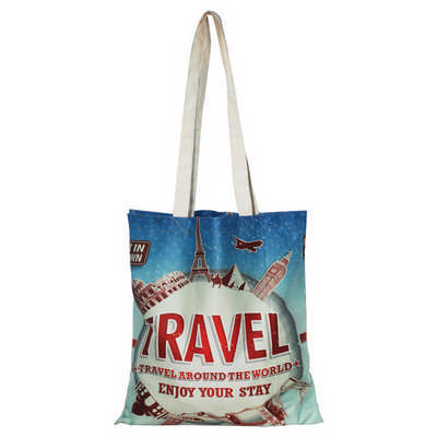 Full-Colour Cotton Tote Bag - (printed with 4 colour(s)) RB1024_PB