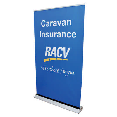 The Deluxe 1200mm Roll Up Banner - (printed with 1 colour(s)) RB191-1200_PB
