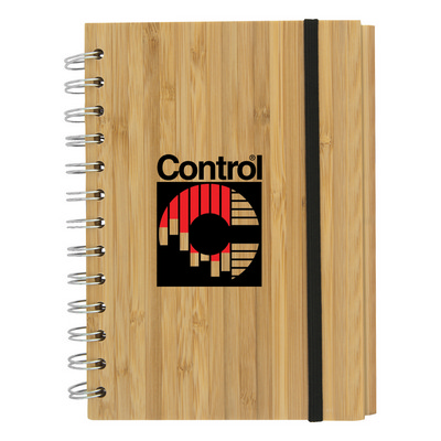 Bamboo Eco Notebook - (printed with 1 colour(s)) T-928_HC