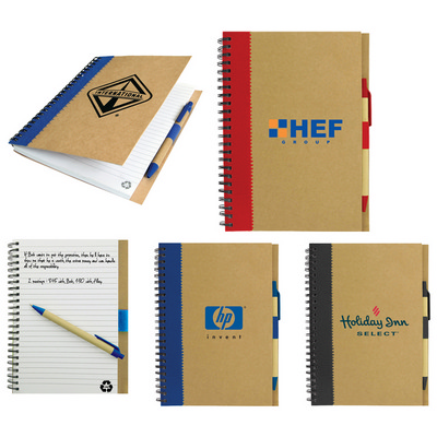 Recycled Paper Notebook - (printed with 1 colour(s)) T-930_HC