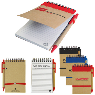Recycled Jotter Pad - (printed with 1 colour(s)) T-933_HC