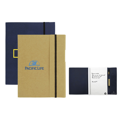 Large Tuck Journal Book - (printed with 1 colour(s)) T-935_HC