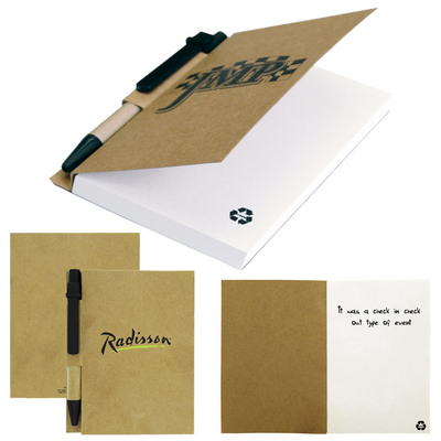 The Aria Recycled Notebook - (printed with 1 colour(s)) T-936_HC