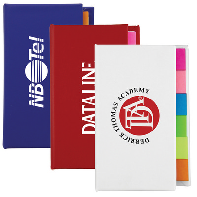 The Adhesive Note Marker Strip Book - (printed with 1 colour(s)) T-954_HC