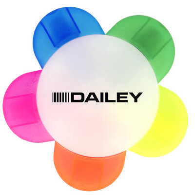 Daisy Highlighter  - (printed with 1 colour(s)) T331_PB