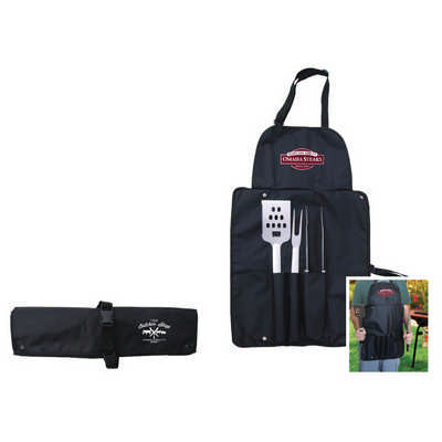 Grill Master BBQ Set  - (printed with 1 colour(s)) T621_PB