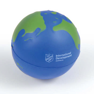 2 Colour World Globe Stress Reliever LL630_LL