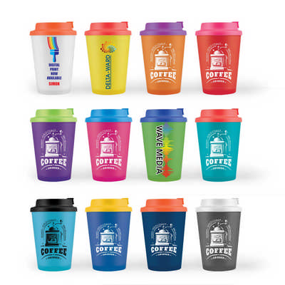 Aroma Coffee Cup  Comfort Lid - (printed with 1 colour(s)) LL0422_LLPRINT
