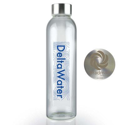 Capri Glass Bottle  - (printed with 1 colour(s)) LL1394_LLPRINT
