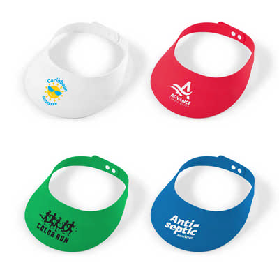 Sizzle Foam Visor - (printed with 1 colour(s)) LL1822_LLPRINT