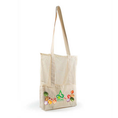 Scoot Calico / Mesh Tote Bag - (printed with 1 colour(s)) LL528_LLPRINT